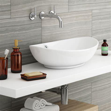 bathroom basin ideas costa oval counter top basin at