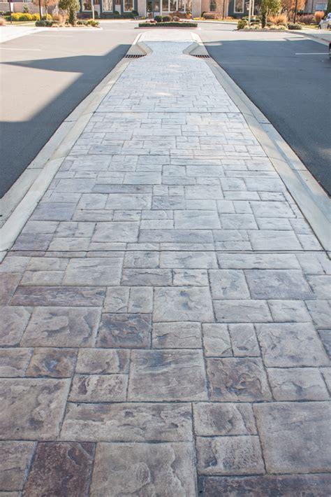 artisan concrete solutions commecial driveways