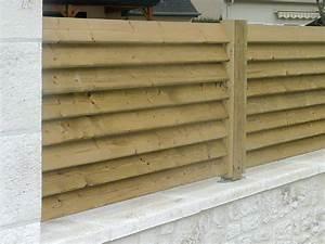 Cloture En Bois : fabriquer persienne bois jj13 jornalagora ~ Premium-room.com Idées de Décoration