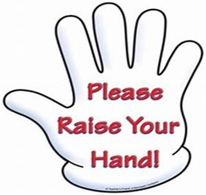 Raise Your Hand Clipart - Cliparts Galleries