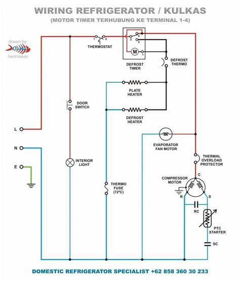 Typical Wiring by Wiring Diagram For Evaporator Wiring Diagram
