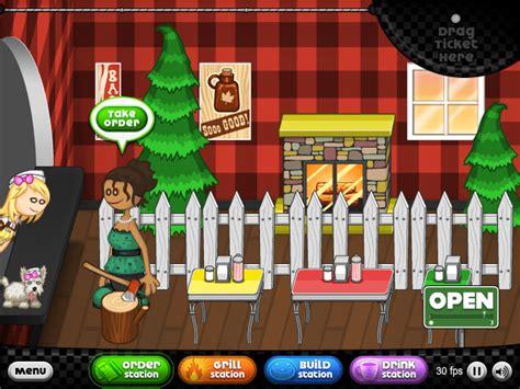 jeux de cuisine papa louie pancakeria papa s pancakeria