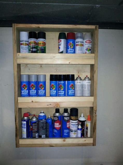 storage shelf  spray paint cans storage shelves spray paint cans shelves