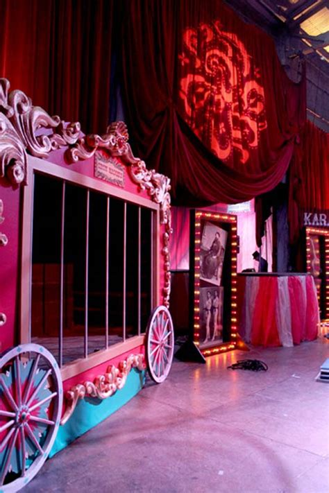 circus theme parties  props rick herns productions