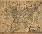 Watson's new rail-road and distance map of the United ...