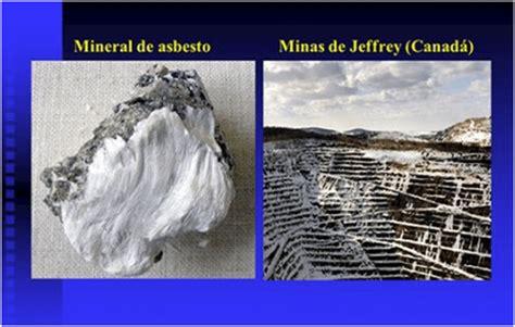 asbesto  amianto conozca los  tipos asociacion