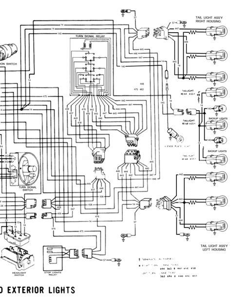 kenworth  headlight wiring diagram detailed