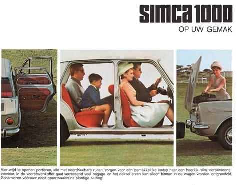 OG | Simca 1000 / 1118 | US version prototype | 1960s Cars ...