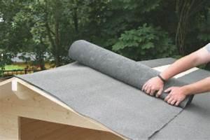 Gartenhaus Dach Decken Dachpappe : flachdach gartenhaus abdichten tipps und anleitung ~ Whattoseeinmadrid.com Haus und Dekorationen