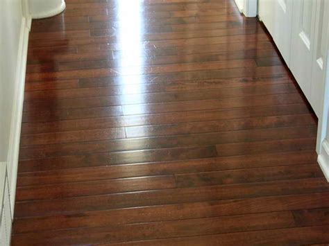 how to get hardwood floors streak free scrubbi