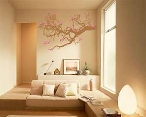 Peach colour on sitting room wall furnitureteams