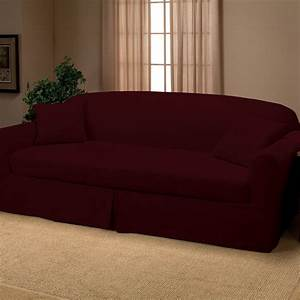 Furniture oversized couch with couch slipcovers for Slipcovers large sectional sofa