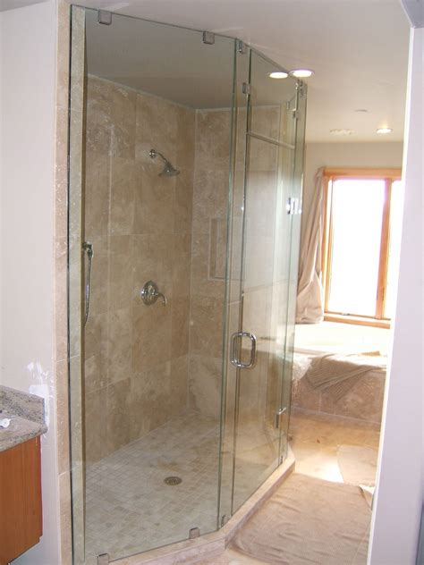home bathroom fan light shiny glass shower showers picture