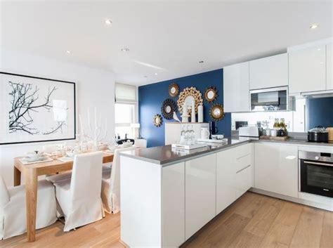 cuisine mur bleu cuisine bleu 50 suggestions de décoration