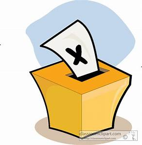 Voting : vote01 : Classroom Clipart