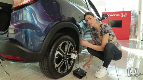 How To Use A Honda Hrv Tyre Repair Kit
