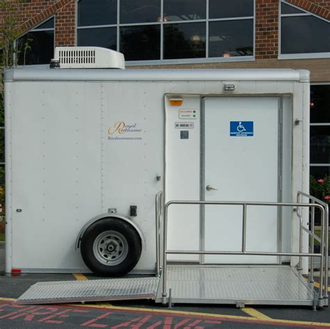 restroom trailers portable toilets  business remodels