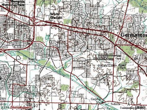Zip Code Map For Memphis Tn.Memphis Tennessee 38127 Zip Code Map