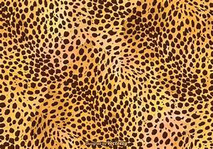Free Vector Leopard Print Background