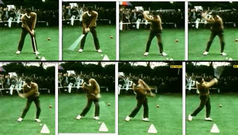 correct foot action differences impact position address player number there