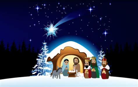 clipart presepe novena de navidad mundonets