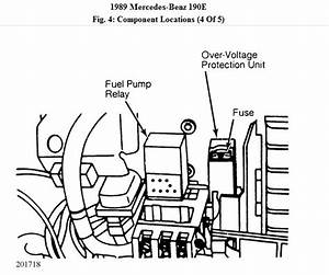 Fuel Pump Relay  Where Is The Fuel Pump Relay For Mercedes 1989