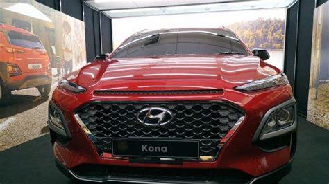 Modifikasi Hyundai Kona 2019 by Foto Foto Eksterior Hyundai Kona Yang Akan Meluncur Di