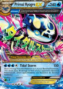 pokemon primal kyogre card images