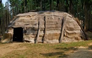 Eastern Woodlands Native Americans Shelter