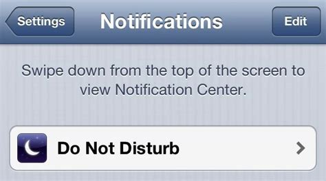 what does do not disturb on iphone how to use do not disturb in ios 6