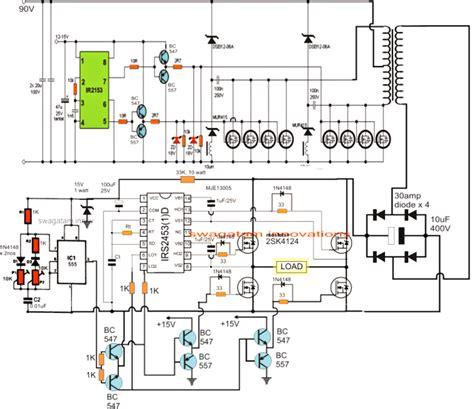 Pwm Sinewave Kva Inverter Circuit