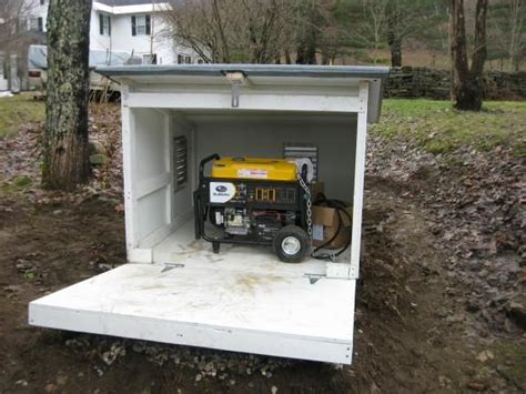 Storage Shed For Portable Generator by Small Sheds For Generators Generator In