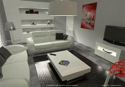 Simulation Amenagement Salon