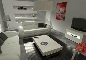 idees salon moderne 3d accueil design et mobilier With idees d amenagement de jardin 18 tables basses modernes 47 idee de salon contemporain