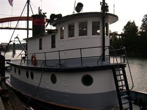 Tugboat For Sale by Liveaboard Retired Tugboat For Sale Boating