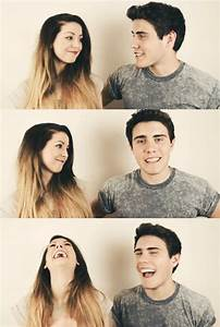 """Zoe and Alfie """"Zalfie"""". They have the cutest relationship ever"""