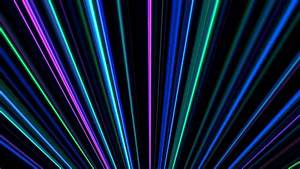 4k Colorful Light Beams