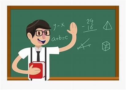 Teacher Clipart Cartoon Crazy Clip Teachers Students
