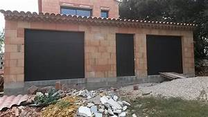 portes de garages battantes sectionnelles laterales With porte de garage noir