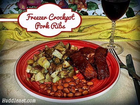 Freezer Crockpot Pork Ribs Huddlenet