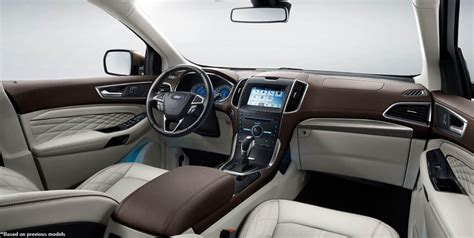 Ford 2019 Ford Edge Sport Interior Refreshed  2019 Ford