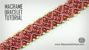 Square Knot Macrame Bracelet Instructions