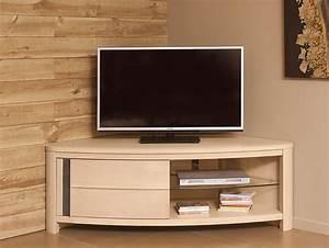Meuble De Tele D Angle : meuble d angle pour tv meuble living trendsetter ~ Nature-et-papiers.com Idées de Décoration