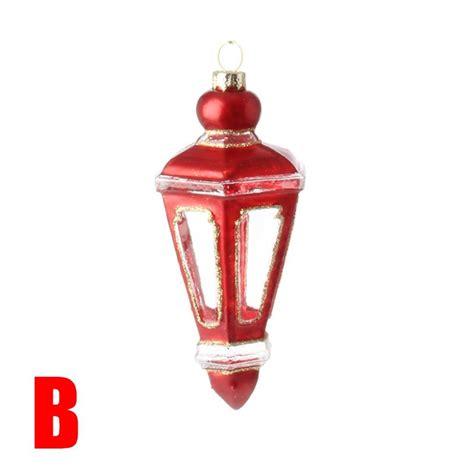 new raz 5 5 quot red lantern glass christmas ornament 3624588