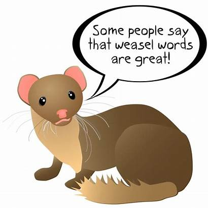 Weasel Words Svg Word Wikipedia Hu Meaning