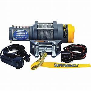 Superwinch 12 Volt Dc Powered Electric Atv Winch  U2014 3500