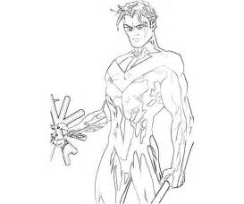 Related Suggestions for Nightwing Coloring Sheets