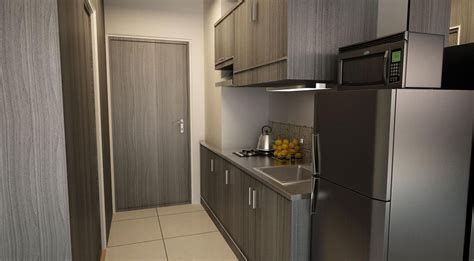 smdc sun residences condominium philippines kitchen area