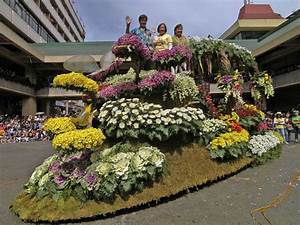 All About Panagbenga  Baguio Flower Festival Floats Pics