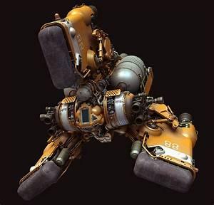 "bassman5911: Heavy Space Tug ""Gordon"" by Paul Pepera ..."